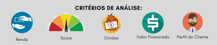 CRITÉRIOS DE ANÁLISE