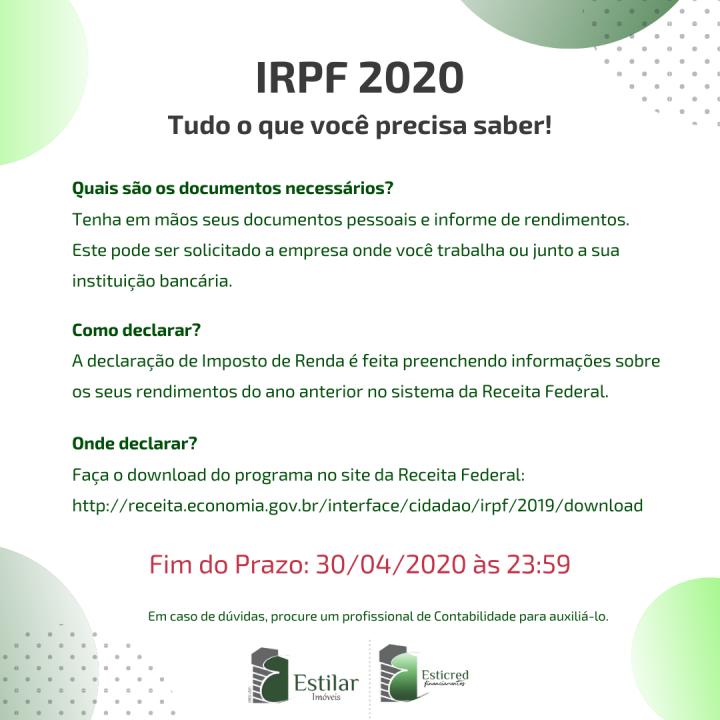 INFO IRPF2020